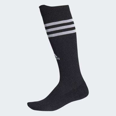 Running Black Alphaskin Compression Over-The-Calf Socks