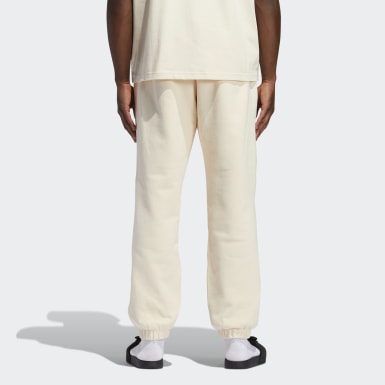 Originals Beige Pharrell Williams Basics Sweat Pants (Gender Neutral)