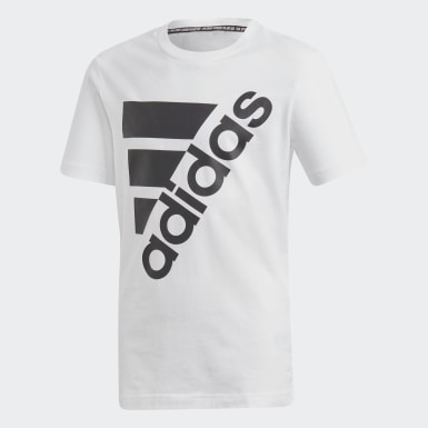 Must Haves  T-shirt Badge of Sport blanc Adolescents Essentials