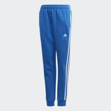 Boys Sport Inspired Blue Must Haves 3-Stripes Pants
