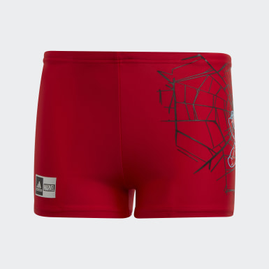Boys Simning Röd Boys Marvel Spider-Man Swim Briefs