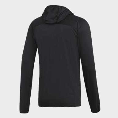 Mænd TERREX Sort TraceRocker Hooded Fleece jakke