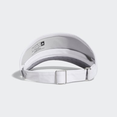 Golf White High-Crown Visor