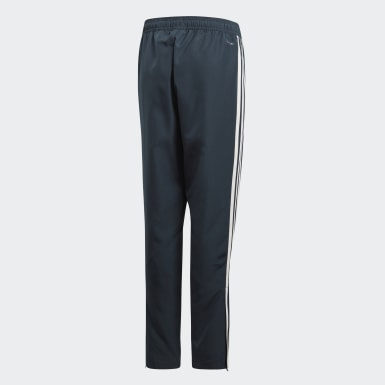 Kids Football Blue Real Madrid Downtime Tracksuit Bottoms