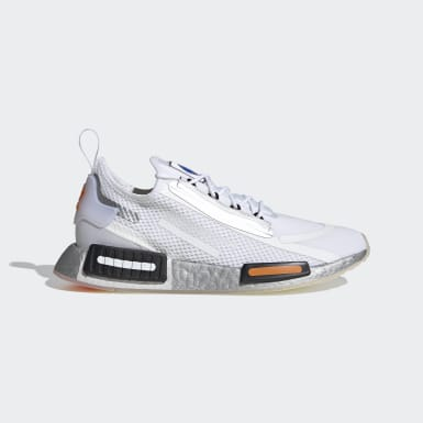 Erkek Originals Beyaz NMD_R1 Spectoo Ayakkabı