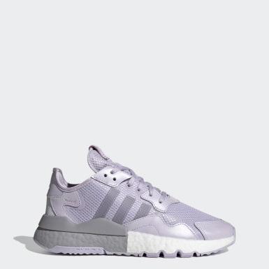 Women Originals Purple Nite Jogger Shoes