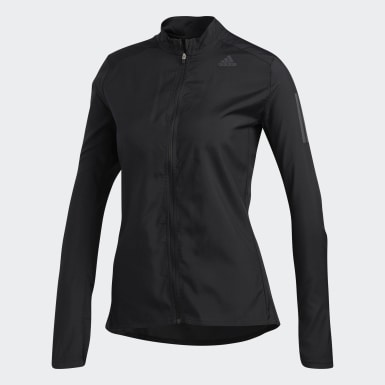 Women Running Black Own the Run Jacket
