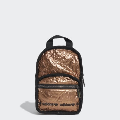 Women Originals Gold Mini Backpack