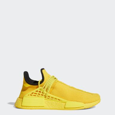 Sapatos NMD Hu Dourado Originals