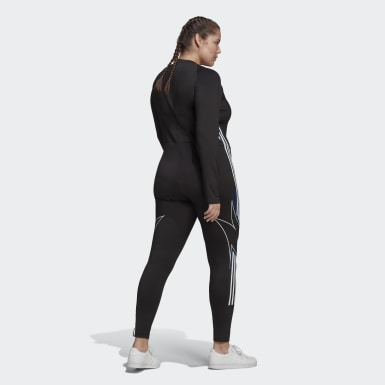 Dam Originals Svart Fakten Catsuit (Plus Size)