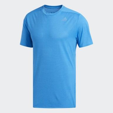 Erkek Koşu Mavi Supernova Tişört