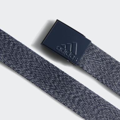 ผู้ชาย กอล์ฟ สีน้ำเงิน เข็มขัดผ้าเว็บบิ้ง Heathered