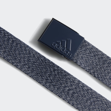 Men's Golf Blue Heathered Web Belt