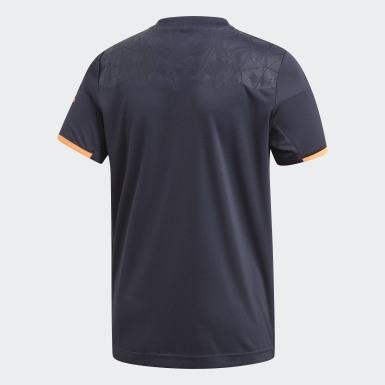 Boys Træning Blå Football Inspired Predator AEROREADY trøje