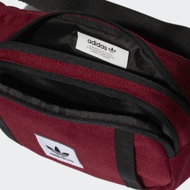 Originals Burgundy Premium Essentials Crossbody taske