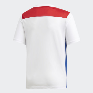 Kinder Fußball Olympique Lyon Heimtrikot Weiß