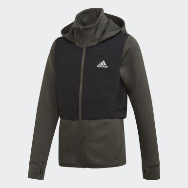 Sweats à capuche Vert Enfants | adidas France