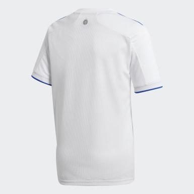 Maillot Domicile Leeds United FC 20/21 Blanc Enfants Football