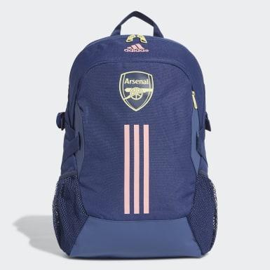 Voetbal Blauw Arsenal Rugzak