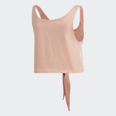 KNOTTED TANK Rosa Mujer Originals