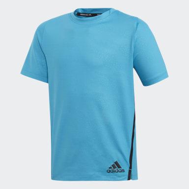 T-shirt Primeblue Blu Ragazzo Yoga