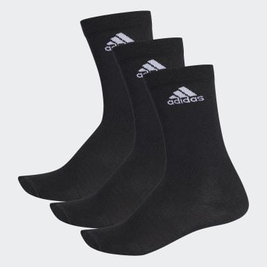 Training Siyah Performance İnce Yarım Boy Çorap - 3 Çift