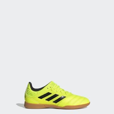 Kids Football Yellow Copa 19.3 Indoor Sala Boots