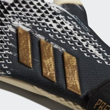 черный Вратарские перчатки Predator 20 Pro Junior