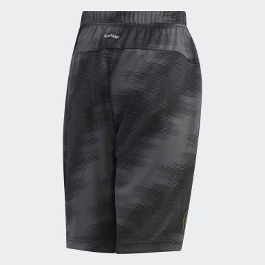 เด็กผู้ชาย เทรนนิง สีดำ กางเกงขาสั้น Train
