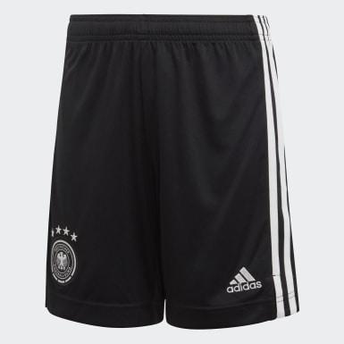 Calções Principais da Alemanha Preto Rapazes Futebol