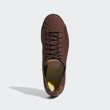 Originals Brown Pharrell Williams Superstar Primeknit Shoes