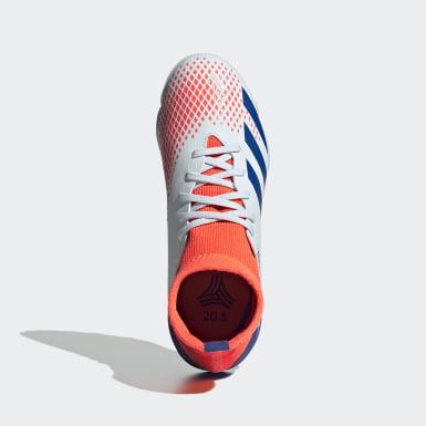 Children Soccer Blue Predator Mutator 20.3 Turf Shoes