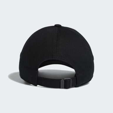 Women's Originals Black Mini Logo Relaxed Hat