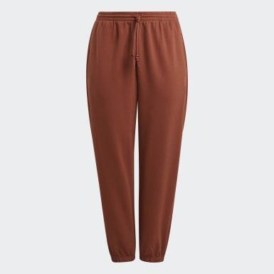 Kvinder Originals Brun Cuffed bukser