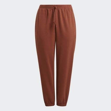 Women Originals Brown Cuffed Pants