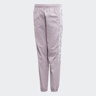 Boys Originals Purple New Icon Track Pants