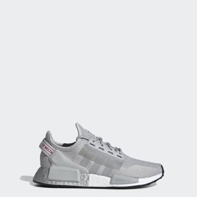 Youth Originals Grey NMD_R1 V2 Shoes