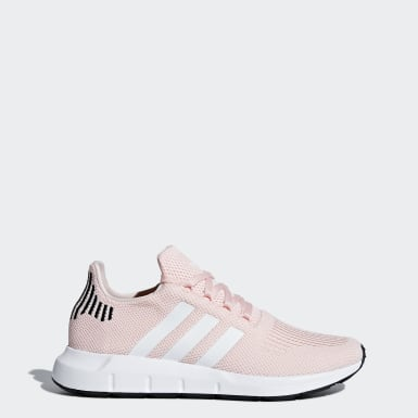 Women's Originals Pink Swift Run Shoes