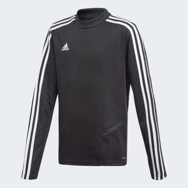 Youth 8-16 Years Training Black Tiro 19 Training Top