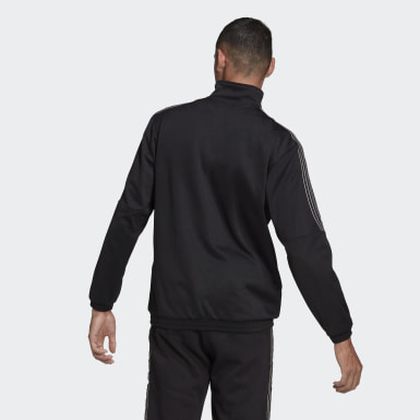 Men Originals Black SPRT 3-Stripes Track Jacket