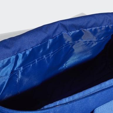 Yoga Blue Convertible 3-Stripes Duffel Bag Medium