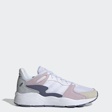 Chaussure Crazychaos Blanc Femmes Running