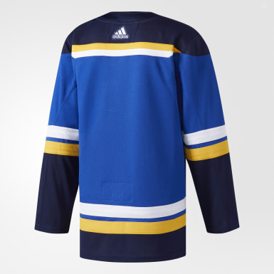 Men's Hockey Blue Blues Home Authentic Pro Jersey