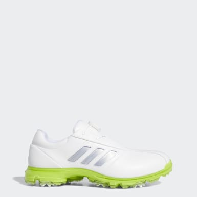 Men Golf White Alphaflex Boa Shoes