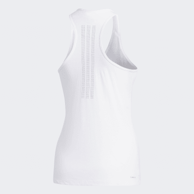 Women Basketball White Prime 3-Stripes Tank Top