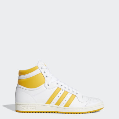 Zapatilla Top Ten Hi Blanco Originals