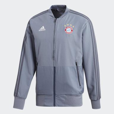 Chaqueta presentación FC Bayern Ultimate Azul Hombre Fútbol