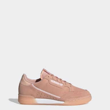 Youth 8-16 Years Originals Pink Continental 80 Shoes