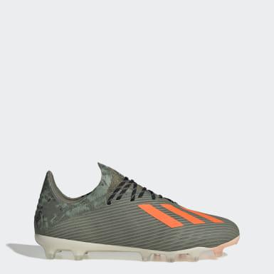 Chaussure X 19.1 Terrain synthétique Vert Football