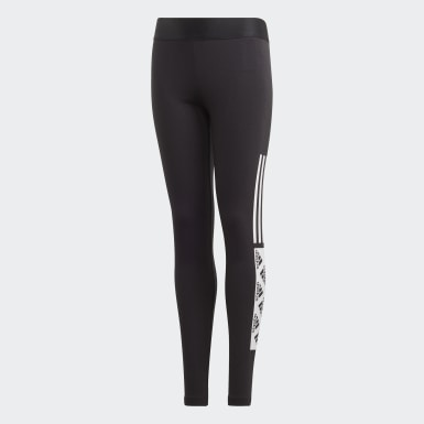 Girls Training Black Must Haves Tights